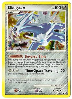 Pokemon Dialga Platinum Holo
